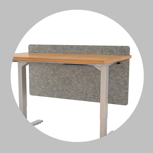 30mm Intertek Acoustic Desk Screen For Libraries